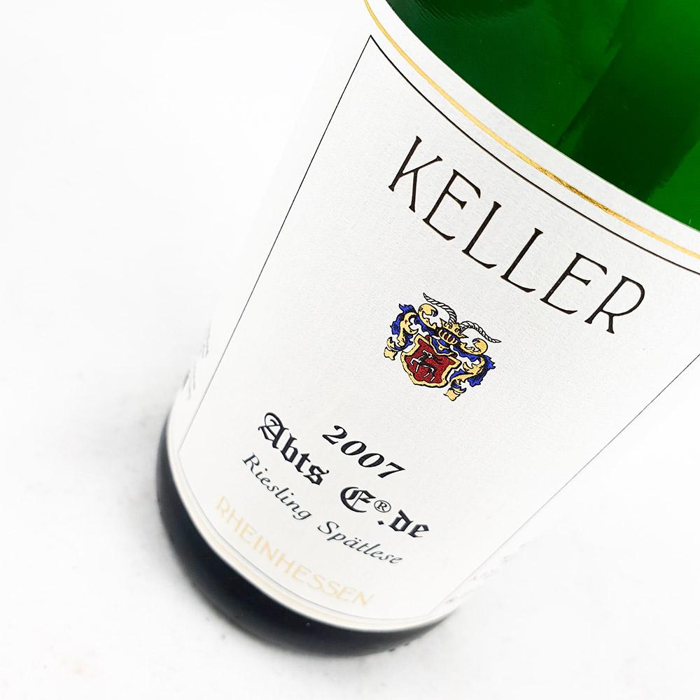 LOT #72 - Weingut Keller AbtsE Spätlese Goldkapsel Versteigerung 2007