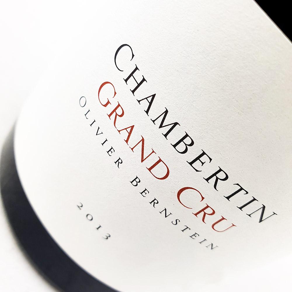 Olivier Bernstein Chambertin Grand Cru 2013