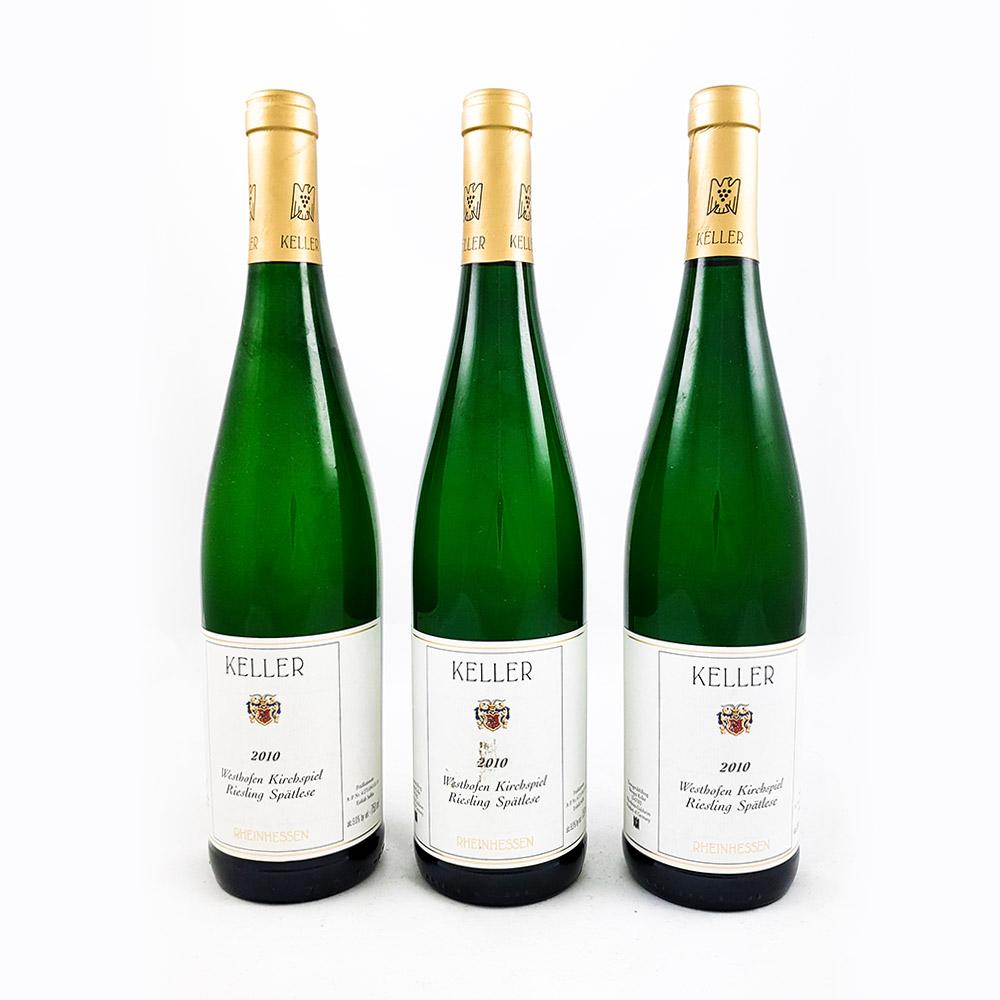 LOT #63 - 3 x Weingut Keller Kirchspiel Spätlese Goldkapsel 2010