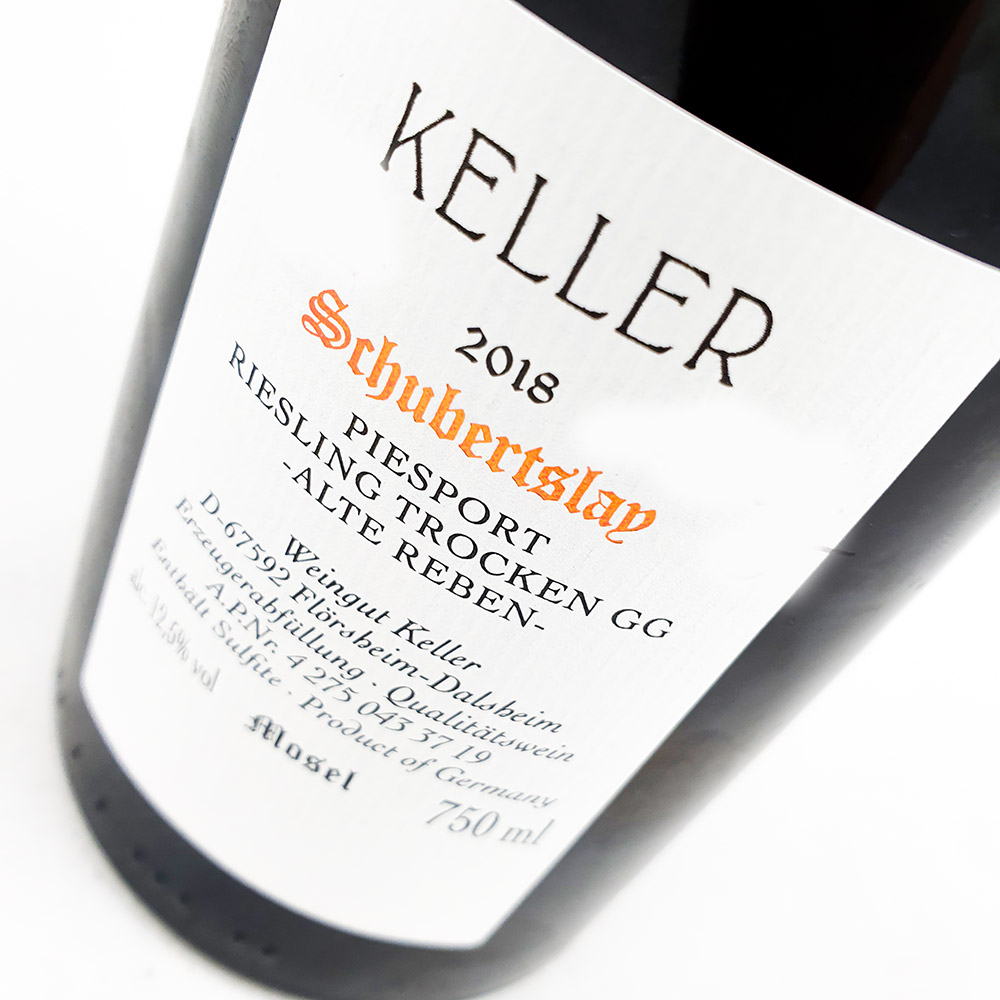LOT #40 - Weingut Keller Schubertslay GG Alte Reben 2018