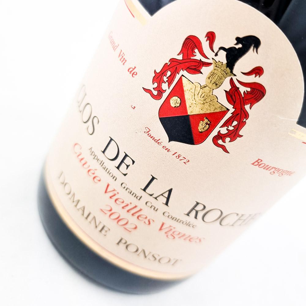 Domaine Ponsot Clos de la Roche Vieilles Vignes 2002
