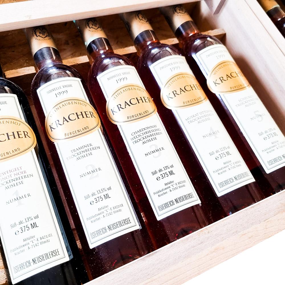 Weingut Kracher Kollektionskiste 1999 in OHK